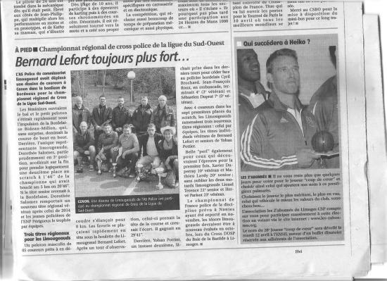 Article du populaire 1 04 2016